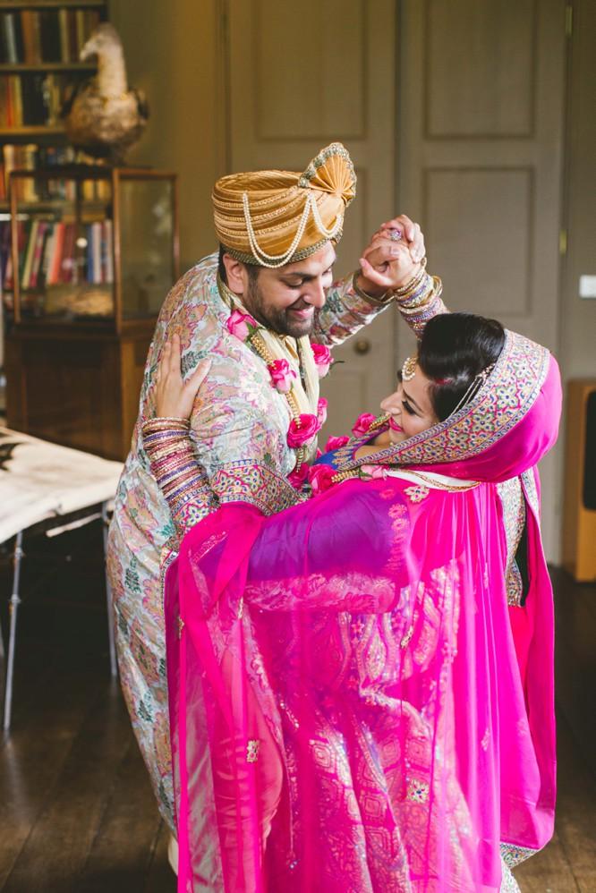 indian wedding dancing pose