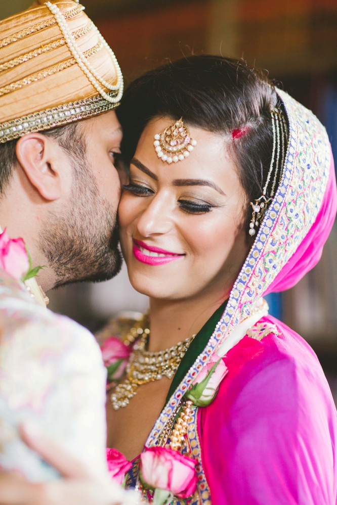 indian bridal makeup photo